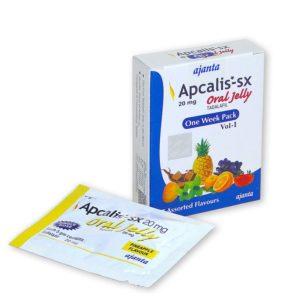 Apcalis-sx oral jelly 20mg