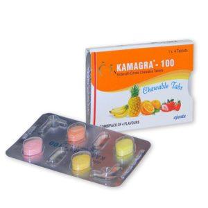 Kamagra žvýkací 100mg